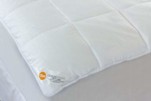 Design Weave Future Textiles Outlast® Temperature Regulating Pillowtop Mattress Pad
