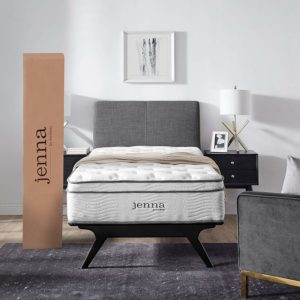 Modway Jenna Innerspring Pillow Top Mattress