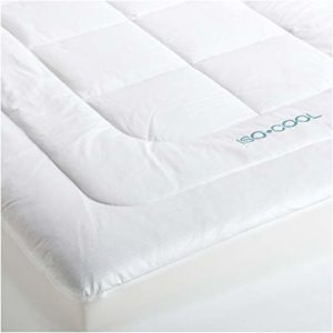 SleepBetter Iso-Cool Memory Foam Outlast® Mattress Topper