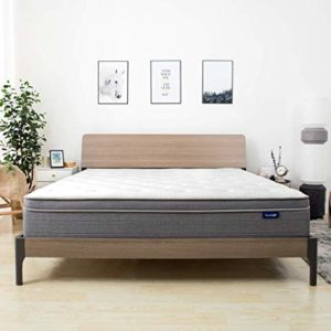 Sweetnight Euro Pillow Top Gel Memory Foam Mattress