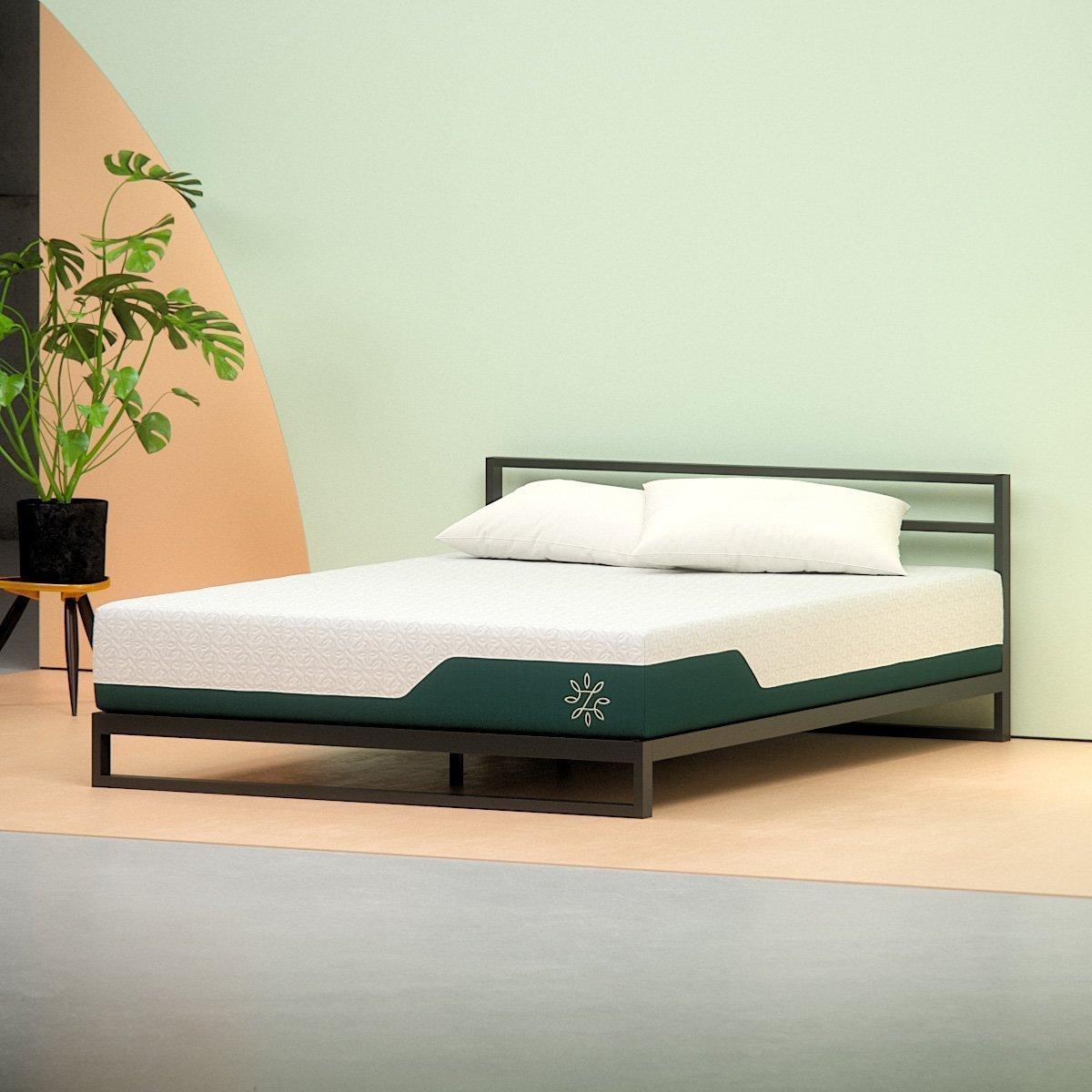 zinus cooling mattress