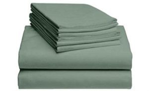 LuxClub 6-Piece Bamboo Sheets