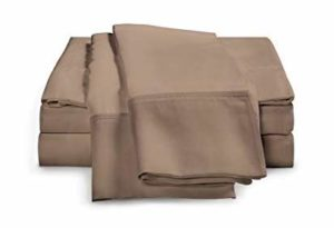 eLuxurySupply 4-Piece Bamboo Sheet Set