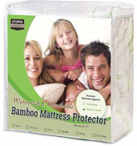 utopia bedding waterproof bamboo
