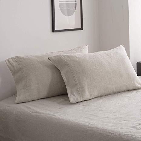 Simple and Opulence Linen Sheet Set