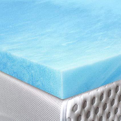 Red Nomad Gel-infused Viscoelastic Memory Foam Mattress Pad