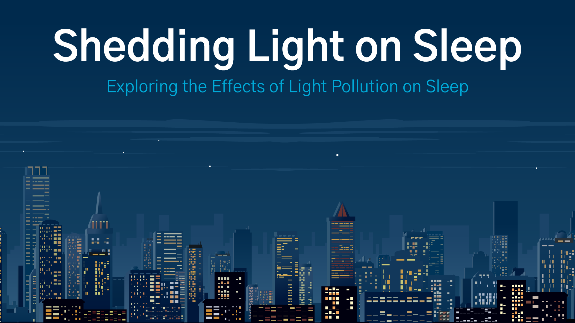shedding light on sleep
