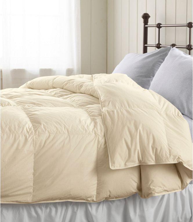L.L. Bean Baffle Box Stitch Comforter